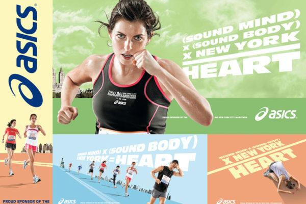 Asics NYC Marathon Print Ad